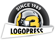 logopress3 since 1989